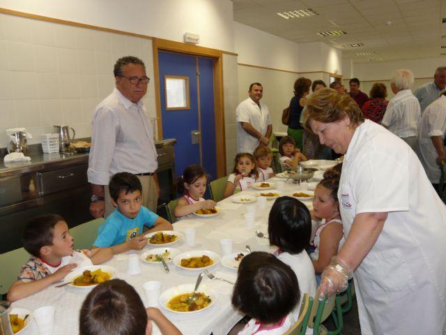 Jornada de puertas abiertas para degustar los menús saludables de Molina de Segura, Premio Estrategia Naos 2009 del Ministerio de Sanidad - 2, Foto 2