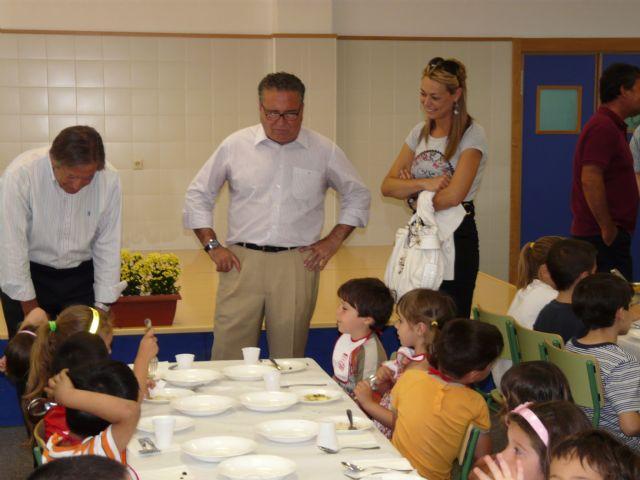Jornada de puertas abiertas para degustar los menús saludables de Molina de Segura, Premio Estrategia Naos 2009 del Ministerio de Sanidad - 3, Foto 3