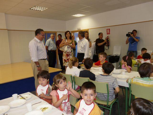 Jornada de puertas abiertas para degustar los menús saludables de Molina de Segura, Premio Estrategia Naos 2009 del Ministerio de Sanidad - 4, Foto 4