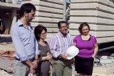 La Comunidad finaliza la estructura de 13 nuevas viviendas de promoción pública en Mazarrón