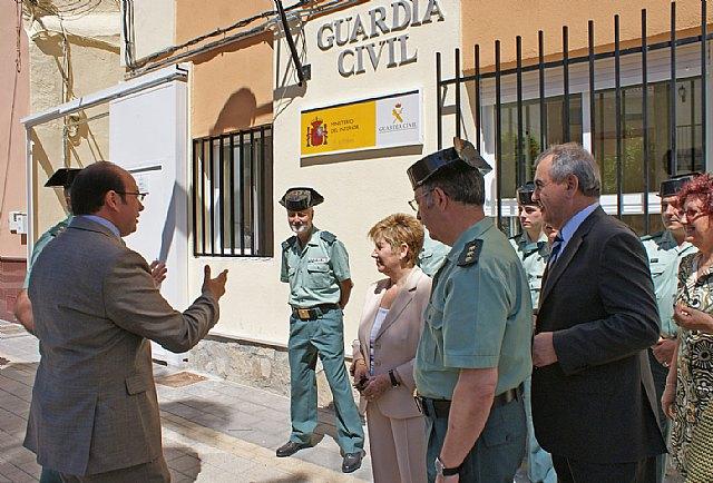 Inaugurada la Casa-Cuartel de la Guardia Civil de Puerto Lumbreras tras obras de mejora y remodelación - 1, Foto 1