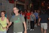Multitudinaria participación en la marcha nocturna