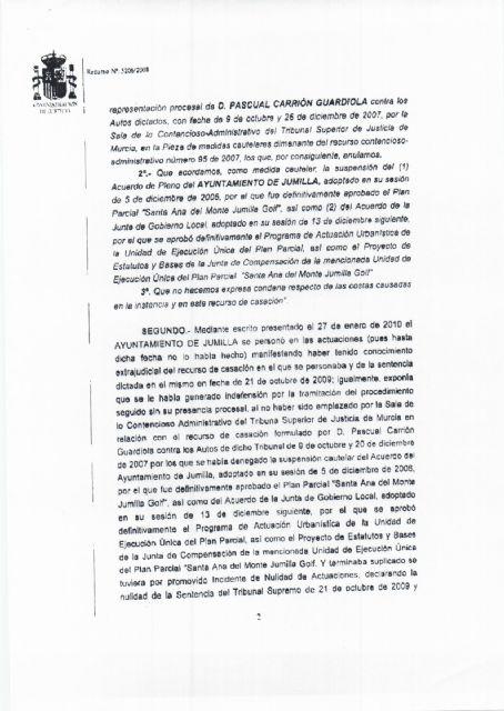 El ayuntamiento de Jumilla vuelve a ganar el juicio del pastor - 2, Foto 2