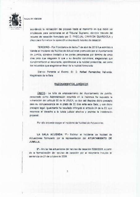El ayuntamiento de Jumilla vuelve a ganar el juicio del pastor - 3, Foto 3