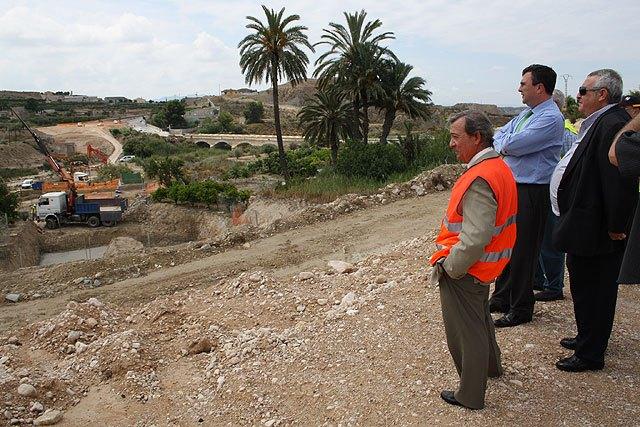 Obras Públicas inicia la construcción del nuevo puente sobre el río Chícamo en los accesos a Abanilla - 1, Foto 1