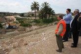Obras Públicas inicia la construcción del nuevo puente sobre el río Chícamo en los accesos a Abanilla
