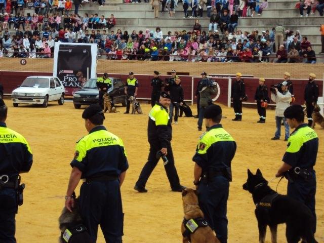 La Unidad Canina de la Policía Local de Totana participa en las II jornadas policiales y militares de guías caninos, Foto 1