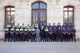 Los policías veneran al Sagrado Corazón de Jesús