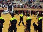 La Unidad Canina de la Policía Local de Totana participa en las II jornadas policiales y militares de guías caninos