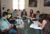 El delegado del Gobierno copreside la Junta Local de Seguridad en Los Alcázares