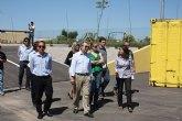Cerdá entrega al Ayuntamiento de Fuente Álamo un ecoparque para la recogida de residuos especiales y valorizables