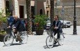 Cieza cuenta desde hoy con un servicio de préstamo de 100 bicicletas de uso gratuito para los ciudadanos y los visitantes