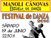 La escuela de danza Manoli Cánovas celebra el sábado su festival fin de curso