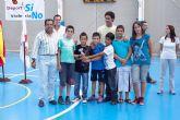 El deporte escolar atrae a cerca de dos mil niños  y niñas mazarroneros
