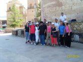 Usuarios y profesionales del SAP visitan el entorno de La Santa y Aledo