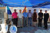 Un nuevo carril-bici de 7,5kilómetros une Las Brisas con Veneziola en La Manga de San Javier