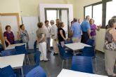 La alcaldesa inaugura el nuevo local social de Los Popos
