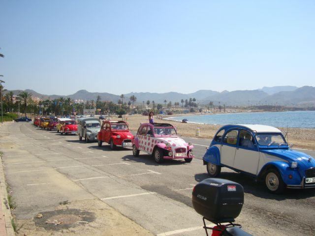 Cincuenta automóviles clásicos pasean por Mazarrón - 1, Foto 1
