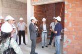 El Director General de Archivos visita las obras del futuro Archivo Municipal