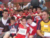 Un total de diez alumnos de los colegios 'La Milagrosa' y 'Reina Sofía' participan en la final regional benjamín de 'Jugando al atletismo'