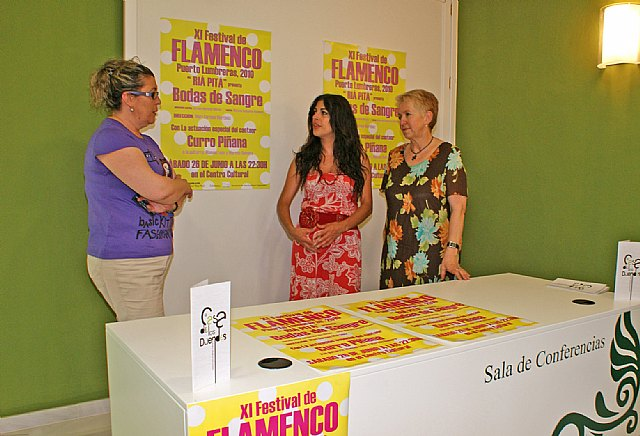 Puerto Lumbreras acoge el XI Festival Flamenco con la actuación del cantaor Curro Piñana - 1, Foto 1