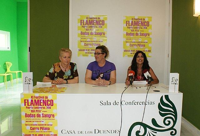 Puerto Lumbreras acoge el XI Festival Flamenco con la actuación del cantaor Curro Piñana - 3, Foto 3