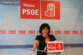 El PSOE ofreció una rueda de prensa para hacer una valoración del Pleno ordinario de junio