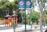 La concejalía de Parques y Jardines estrena cartelería en los parques del municipio