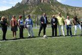 El delegado del Gobierno inaugura la nueva zona deportiva y el nuevo aparcamiento en el paraje Vereda Puncha de Cieza