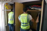 La Guardia Civil desarticula una banda dedicada al tr�fico de droga en Alhama de Murcia