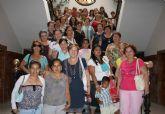 Las mujeres mazarroneras con el Año Santo de Caravaca de la Cruz
