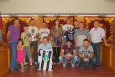 Alguazas entrega los trofeos a los ganadores de las ligas de aficionados de fútbol y tenis