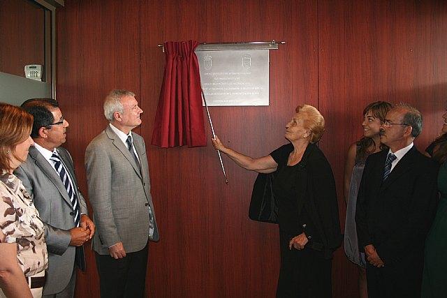 Valcárcel inaugura el nuevo Centro de Salud del Puerto de Mazarrón, en cuya construcción se han invertido 4,5 millones de euros - 1, Foto 1