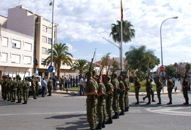 Puerto Lumbreras ultima los preparativos para la Jura de Bandera Civil del próximo domingo 4 de julio - 1, Foto 1