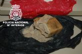 Desmantelado un piso de seguridad destinado al almacenamiento de droga y armas en Murcia