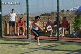 El plazo para inscribirse al II Torneo de Pádel 'Fiestas de Santiago de Totana' permanecerá abierto hasta el jueves 1 de julio