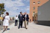 Rehabilitadas las 112 viviendas sociales de la barriada de la Caridad en Cartagena