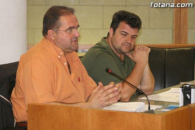Los concejales del Grupo Municipal de IU + Los Verdes en Totana, Pedro Martínez y Juan José Cánovas, en una foto de archivo / Totana.com, Foto 1