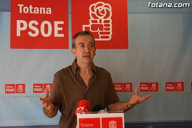 El PSOE propone un gobierno de conciliación presidido por el PP para sacar a Totana de la crisis - 1, Foto 1