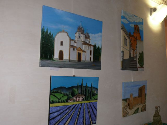 Inaugurada la I muestra de los trabajos realizados por alumnos de talleres de artesanía - 2, Foto 2