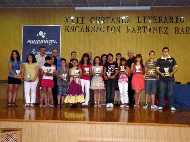 Entregados los premios del XXII Certamen de Literatura Infantil y Juvenil Encarnación Martínez Barberán - 1, Foto 1