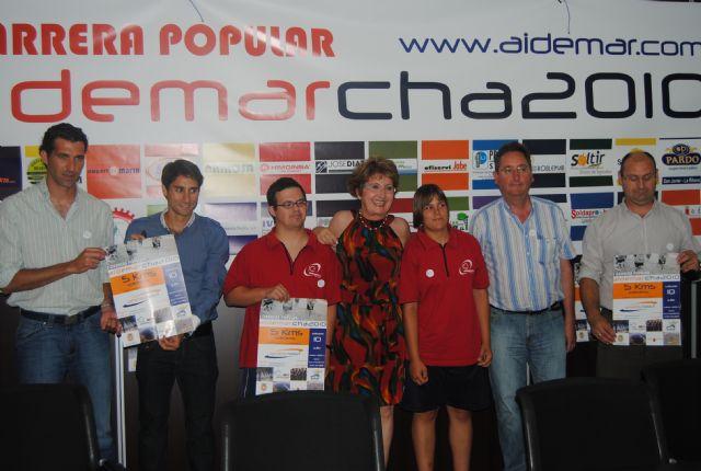 Aidemar programa una carrera nocturna la Aidemarcha 2010  en la que espera superar los mil participantes - 1, Foto 1