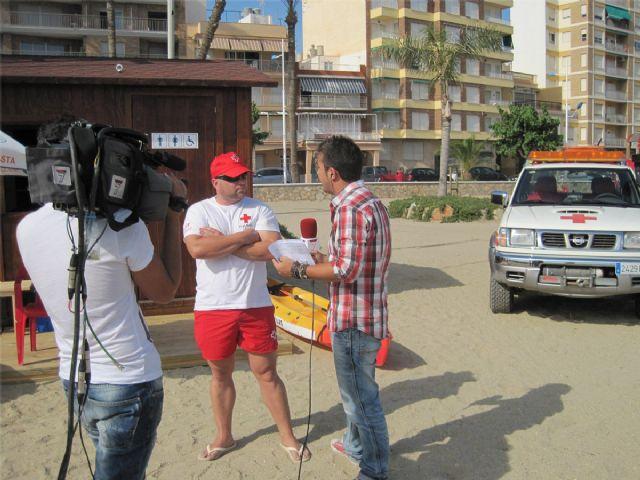 La labor diaria de los Socorristas de Cruz Roja, en directo para toda la Comunidad, gracias al programa de la 7RM Desde Aquí - 1, Foto 1