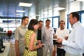 Una delegación de Polonia visita Murcia para conocer las innovaciones tecnológicas aplicadas al transporte público