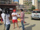 La labor diaria de los Socorristas de Cruz Roja, en directo para toda la Comunidad, gracias al programa de la 7RM 'Desde Aquí'