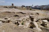 Los arqueólogos toman la parte superior del cerro del Molinete