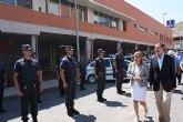 El nuevo cuartel de la Policía Local en la pedanía murciana de El Esparragal mejora la seguridad en la zona noreste del municipio