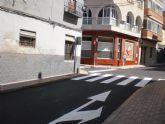 Abierta al tr�fico la calle del Pino