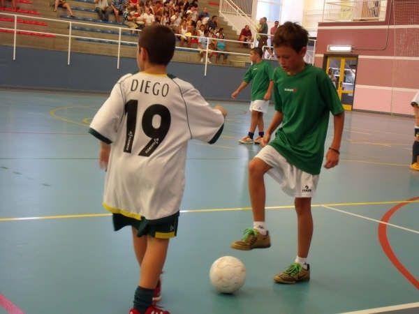 ´Campeonato de verano de fútbol sala benjamín y alevín´ en Mazarrón, Foto 1