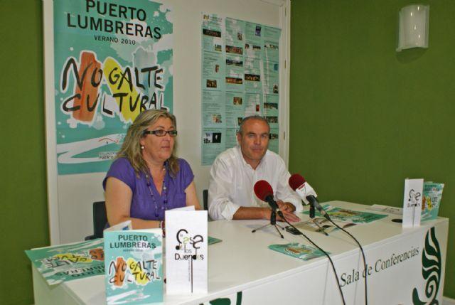 Puerto Lumbreras presenta el programa ´Nogalte Cultural´ que incluye más de 50 actividades culturales para el verano 2010 - 2, Foto 2